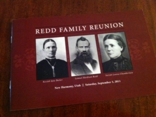 Heritage Program to the 2011 Redd Family Reunion